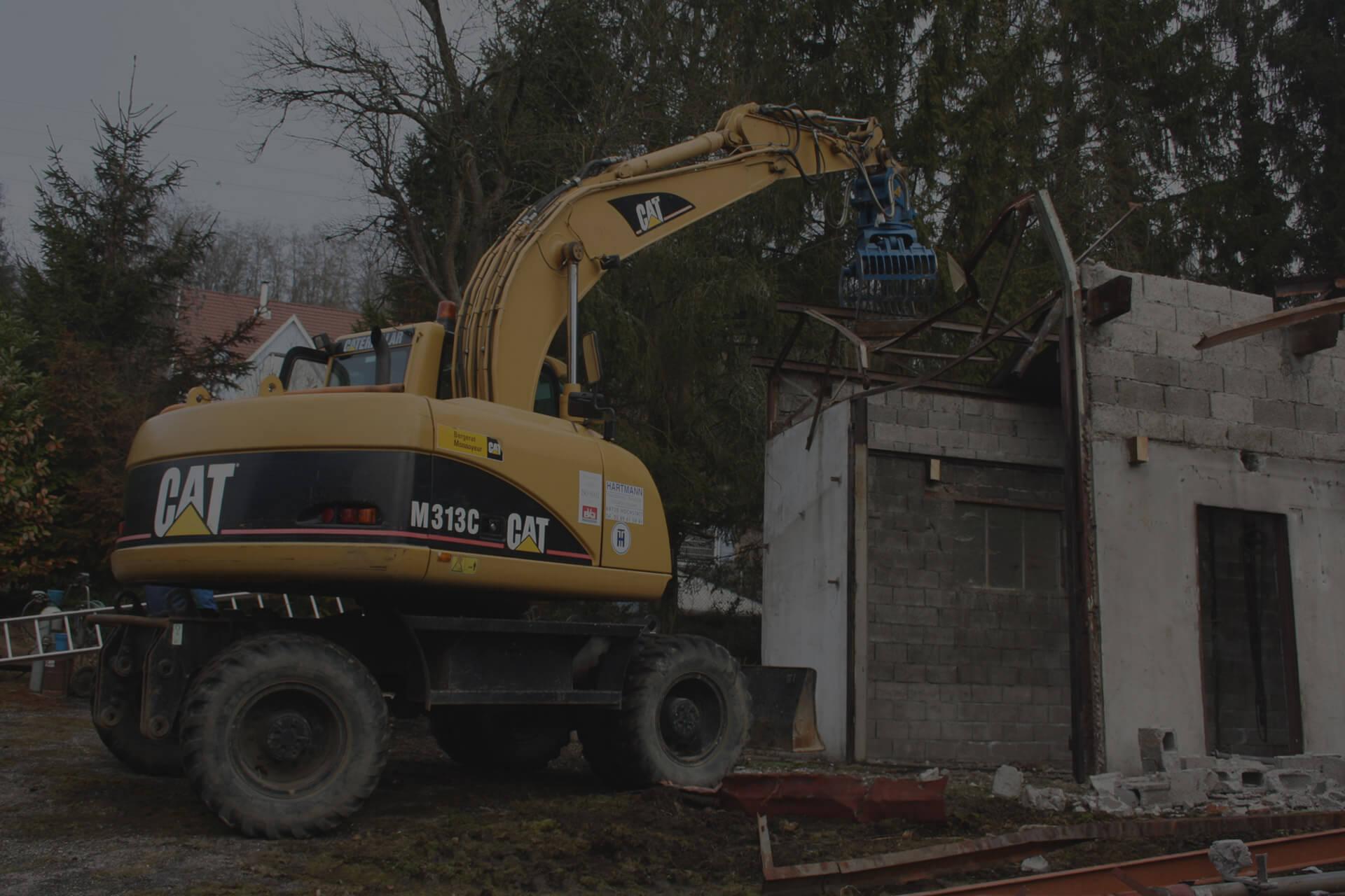 slide demolition